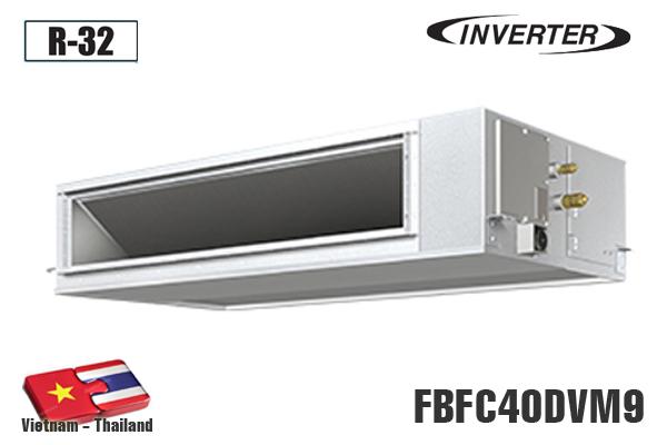 Điều hòa âm trần nối ống gió Daikin 15.000BTU 1 chiều inverter FBFC40DVM9