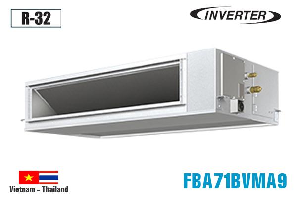 FBA71BVMA9/RZF71CV2V, Điều hòa nối ống gió Daikin 24000BTU inverter 1 chiều