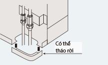 Điều hòa Daikin Tủ đứng 2 chiều 28.000BTU   Lắp đặt điều hòa