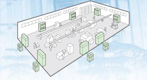 Điều hòa tủ đứng đặt sàn thổi trực tiếp DaikinFVGR10NV1/RUR10NY1